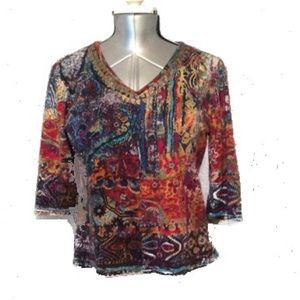Take Two Multicolor Blouse